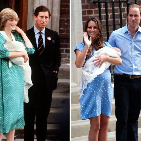 Mode-Kampf zwischen Herzogin Kate und Lady Di (Foto)