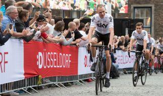 Im Juli findet die bisher 104. Tour de France statt. (Foto)
