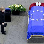 Bewegender Abschied von Helmut Kohl (Foto)