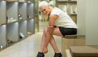 "TV-Sternchen Sarah Knappik möchte sich den Titel ""Promi Shopping Queen"" krallen. (Foto)"