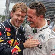 So ähnlich sind sich Schumi und Formel-1-Star Sebastian Vettel (Foto)