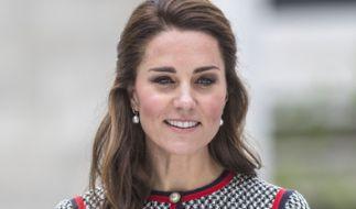Herzogin Kate wurde Opfer eines makaberen Werbe-Coups. (Foto)