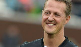 """Beim """"Champions for Charity"""" wurde auch an Michael Schumacher gedacht. (Foto)"""
