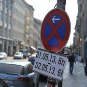 Wie lässt sich ein Umzugsparkverbot einrichten? (Foto)