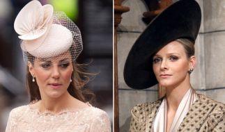Charlène von Monaco und Kate haben etwas gemeinsam: Beide stammen aus bürgerlichen Familien und ehelichten einen Adligen. (Foto)