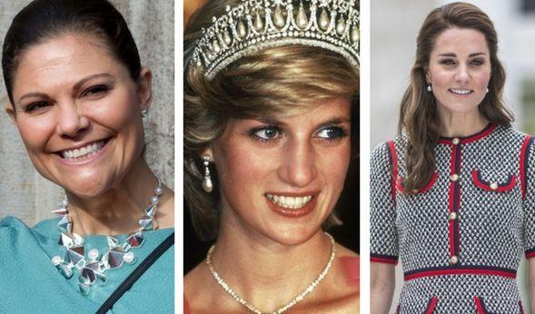 Kate Middleton + Victoria von Schweden