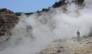 In Italien brodelt ein Supervulkan. (Foto)