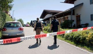 Ein Achtjähriger ist in Vogtareuth erschossen worden. (Foto)