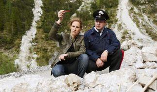 Sonja Schwarz findet die Überreste einer Leiche und ein auffälliges Amulett. (Foto)