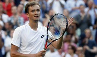 Daniil Medwedew sorgte in Wimbledon für einen Eklat. (Foto)
