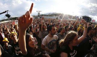 Bei einem Festival in Spanien ist ein Akrobat tödlich verunglückt. (Foto)