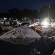 Deutsche Jacht in Minden explodiert - Feuerwehrleute und Polizist verletzt (Foto)