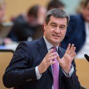 Söder verspricht bürgernahe Steuersenkungen (Foto)