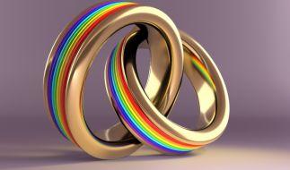 Sie sind das erste verheiratete schwule Moslem-Paar in Großbritannien. (Foto)