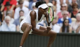Der US-amerikanische Tennisstar Venus Williams steht im Damen-Finale von Wimbledon 2017. (Foto)