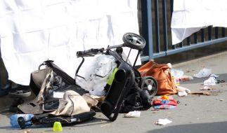 Bei einem tragischen Autounfall in Hagen starb ein einjähriges Kleinkind. (Foto)