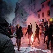 Deutsche Sicherheitsbehörden warnten vor Gewalt bei G20 (Foto)