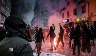 Die Bilder von den Krawallen beim G20-Gipfel sorgten nicht nur in Deutschland für Entsetzen. (Foto)