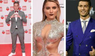 Promi-News der Woche: Sophia Thomalla ist verliebt, Pietro Lombardi heiratet wieder, Cristiano Ronaldo wird wieder Vater. (Foto)