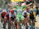 Marcel Kittel vom Team Quick-Step Floors konnte bisher fünf Etappen bei der Tour de France 2017 für sich entscheiden. (Foto)