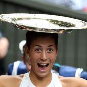 Muguruza gewinnt in Wimbledon (Foto)