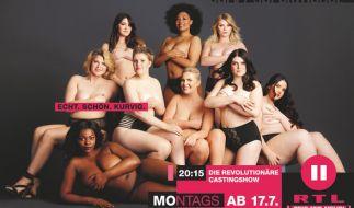 """""""Curvy Supermodel"""" startet am 17.07.2017 in eine neue Staffel. (Foto)"""