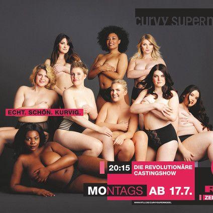 Staffelstart! Wer wird das nächste Supermodel mit heißen Kurven? (Foto)