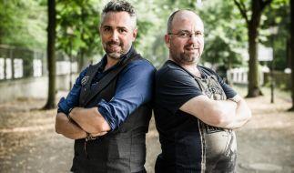 "Roland Trettl (l.) tritt bei ""Kitchen Impossible"" gegen Christian Lohse an. (Foto)"