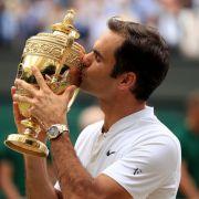Roger Federer gewinnt zum 8. Mal - Murray siegt mit Hingis im Doppel (Foto)