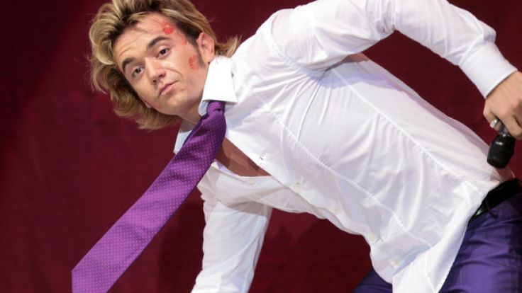 Florian Silbereisen hat sich in Guinness Buch der Rekorde geknutscht. (Foto)