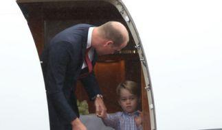 Prinz George hat offenbar so gar keinen Bock auf Menschen. (Foto)