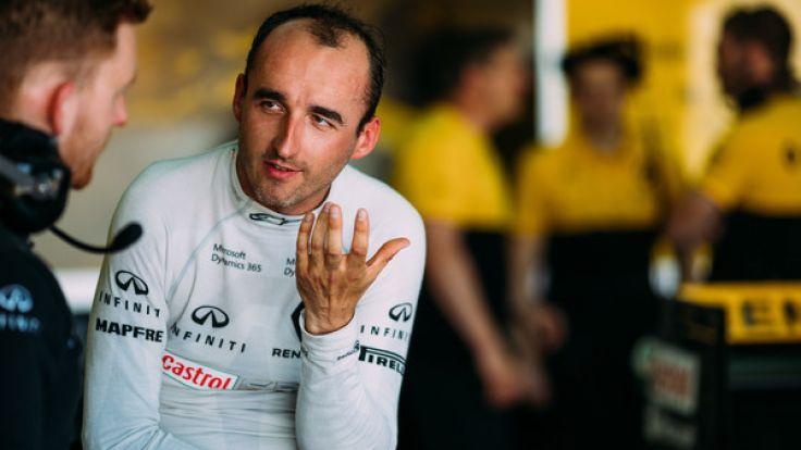 Robert Kubica kehrt offenbar zur Formel 1 zurück. (Foto)
