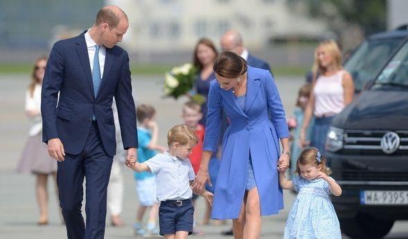 Die Reise von William und Kate beginnt in Warschau, Polen. Von hier aus reist die royale Familie nach Deutschland. (Foto)
