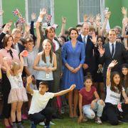 Zeit für ein Gruppenfoto mit den Kindern und Jugendlichen, dem Leiter des Straßenkinder e.V., Eckhard Baumann, sowie Bürgermeister Müller war auch noch.