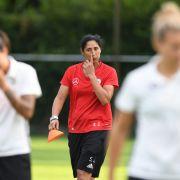 DFB-Frauen siegen mühsam 2:1 gegen Italien - Viertelfinale ist nah (Foto)