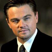 Hollywood-Schauspieler Leonardo DiCaprio mimt im Film