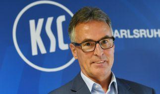Helmut Sandrock ist seit dem 19.06.2017 als neuer Geschäftsführer des Karlsruher SC tätig. (Foto)