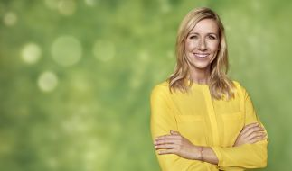 "Andrea Kiewel präsentiert den großen Mallorca-""Fernsehgarten"" live vom Mainzer Lerchenberg. (Foto)"