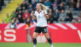 Fußballnationalspielerin Mandy Islacker stammt aus einer Fußballerfamilie. (Foto)