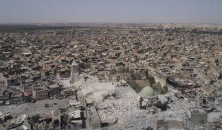 Im zerstörten Mossul wurde eine 16-Jährige aus Sachsen festgenommen. (Foto)