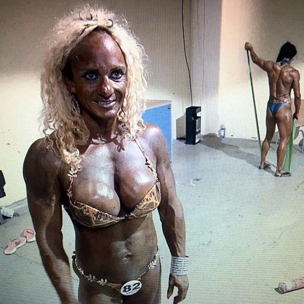 Diese Bodybuilderin musste ordentlich stemmen (Foto)