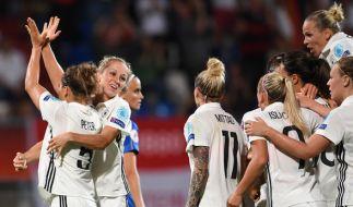 Die deutsche Mannschaft muss gegen Russland punkten. (Foto)