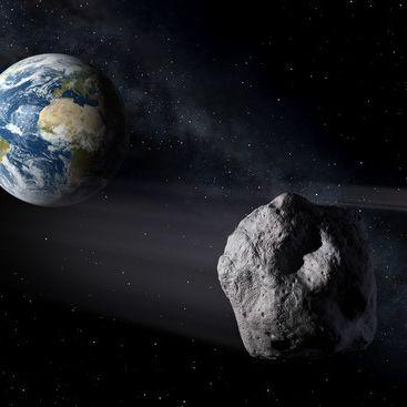 Horror-Szenario! Asteroid trifft die Erde (Foto)
