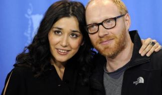 Zur Berlinale 2009 erschien Simon Schwarz mit seiner Filmpartnerin Dorka Gryllus. (Foto)