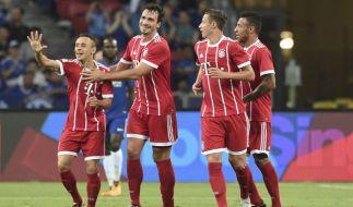 Nach dem Sieg gegen Chelsea müssen die Bayern gegen Inter Mailand ran. (Foto)