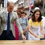 Böses Gebäck-Mobbing gegen Prinz William und Herzogin Kate (Foto)