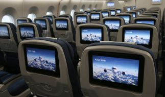 Schnelles Internetsurfen soll in Flugzeugen bald Standard sein. (Symbolbild) (Foto)