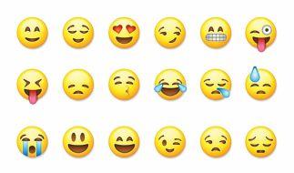 Nicht jeder Emoji wird richtig eingesetzt. (Foto)