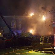 Feuer-Drama bei Festival - 20 000 Menschen evakuiert (Foto)