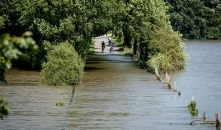 Das Hochwasser in Niedersachsen scheint noch nicht vorbei zu sein. (Foto)